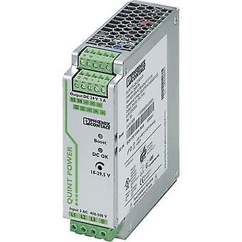 Rail mounted PSU (DIN) Phoenix Contact QUINT-PS/3AC/24DC/5 24 Vdc 5 A 120 W 1 x