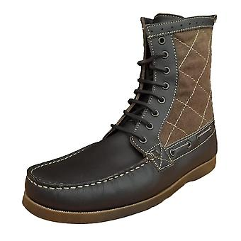 Henleys Men's Sandbar Leather/Textile Casual Boots
