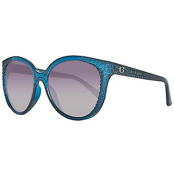 Guess sunglasses women's turquoise