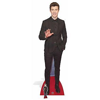 Shawn Mendes livet størrelse papp åpning
