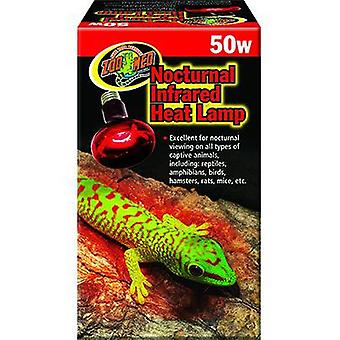 Zoo Med Foco Infrarrojo Heat Lamp 50W (Reptiles , Heaters , Lamps)