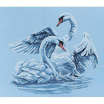 Swan Fidelity Counted Cross Stitch Kit-15.75