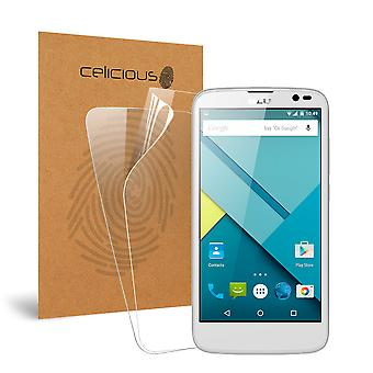 Celicious Vivid Invisible Glossy HD Screen Protector Film Compatible with BLU Studio G [Pack of 2]