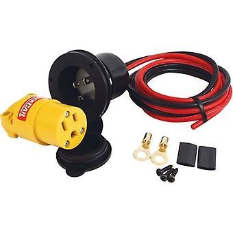 Quickcar Racing Products 57-723 Remote Outlet Kit for Oil Heater/Battery Charger