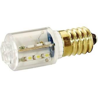 LED bouw lamp E14 Red 230 v gelijkstroom, 230 V AC 1100 mlm MBRE141608 signaal