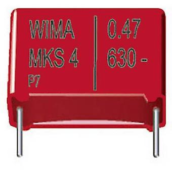 WIMA MKS4U012203F00KSSD 1 PC MKS Dünnschicht-Kondensator Radial führen 2200 pF 2000 Vdc 10 % 10 mm (L x b x H) 13 x 5 x 11 mm