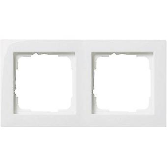 GIRA 2x Frame E2, Standard 55 Pure white