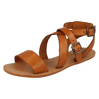 Ladies Leather Collection Summer Sandals F0924