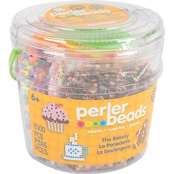 Perler Fused Bead Bucket Kit-Bakery