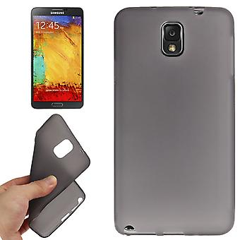 TPU case cover voor Samsung Galaxy touch 3 / N9000-donkergrijs