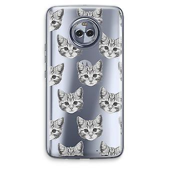 Motorola Moto X4 Transparent Case - Kitten