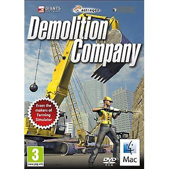 Nedrivning selskab (Mac CD)