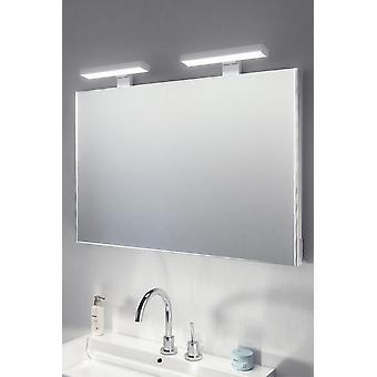Crown Top Light Mirror with sensor & shaver socket k484
