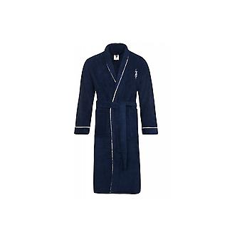 U.S. POLO ASSN. Men's bathrobe Navy