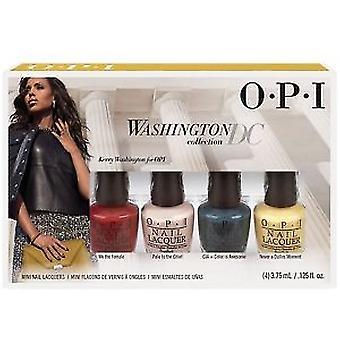 Regalo de esmalte de uñas OPI Washington DC juego de 4 piezas
