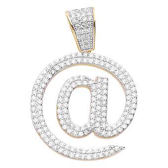 Premium Bling - 925 Sterling Silver @ Pendant gold