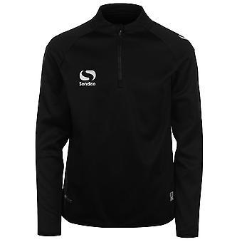 Sondico Kids Boys Mid Layer Track Top Junior Tracksuit Jacket Long Sleeve Chin
