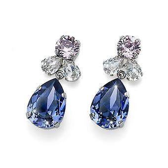 Oliver Weber Post Earring Jazzy Rhodium