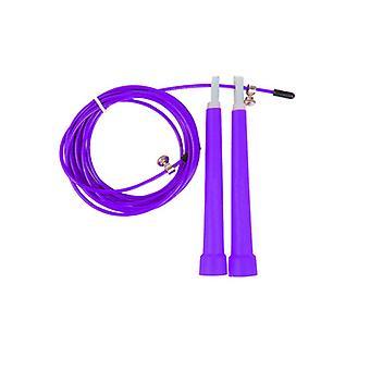 Скакалка скорость каната фиолетовый