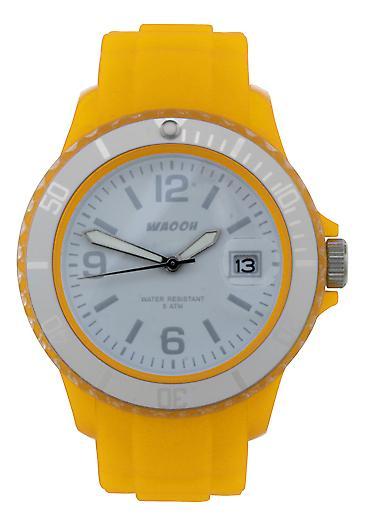 Waooh - Watch Dial & Bezel MONACO 38 Transparent White