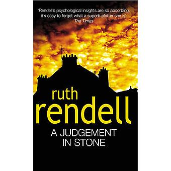 A Judgement in Stone by Ruth Rendell - 9780099171409 Book