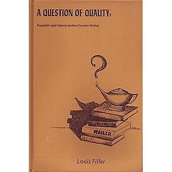 Question de la qualité de remplissage - livre 9780879720773