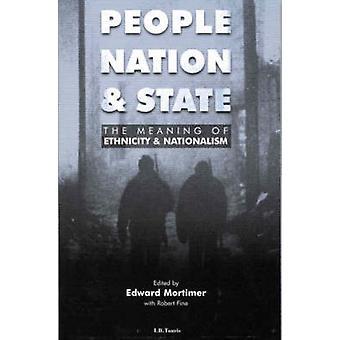 Peuple - Nation et état - sens de l'appartenance ethnique et nationalisme b