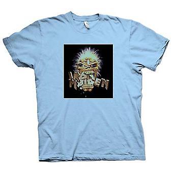 Mens T-shirt - Iron Maiden - Eddie Eating Words