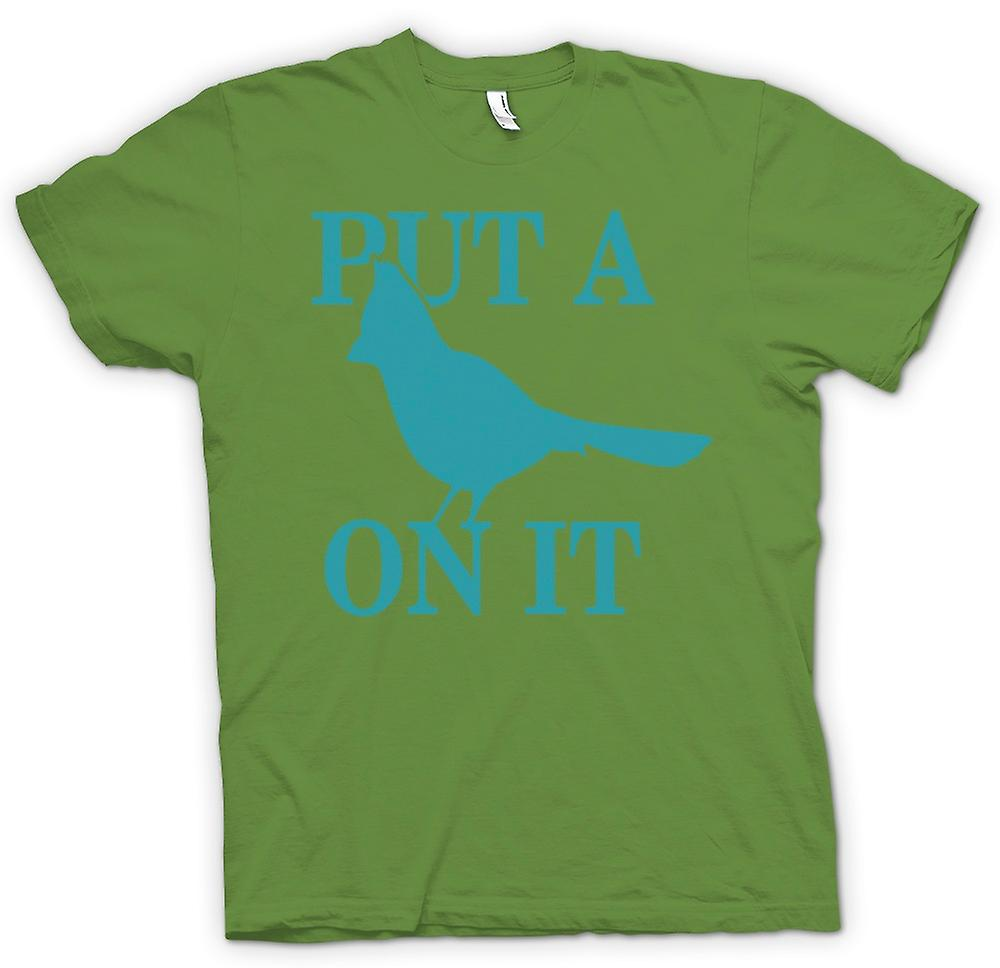 Mens T-shirt - Portlandia - Put A Bird On It