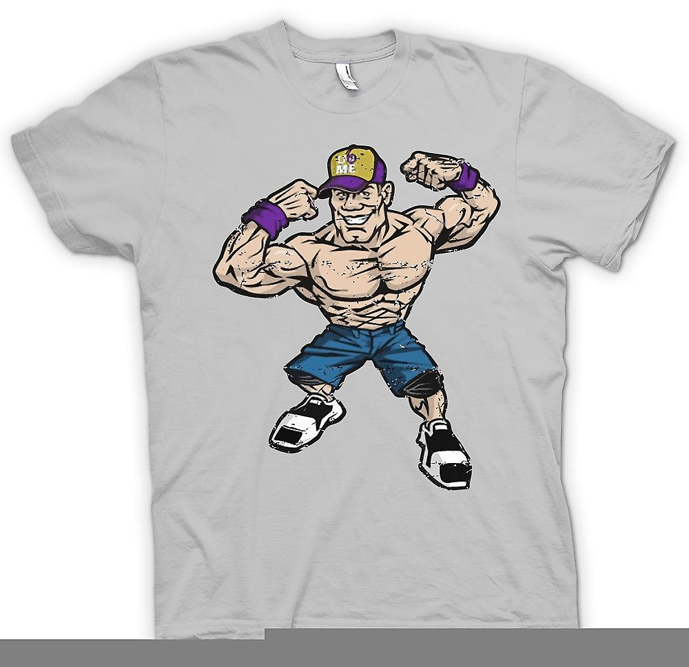 Mens T-shirt - John Cena Caricature - Cool Wrestling
