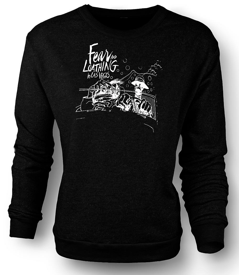 Mens Sweatshirt Fear And Loathing - tecknad - rolig