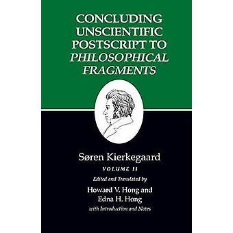 Kierkegaards Schriften - v. 12 - pt. 2 - abschließende unwissenschaftliche Postsc