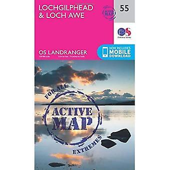 Lochgilphead & Loch Awe (OS�Landranger Map)