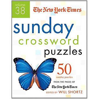 Die New York Times Sonntag Rätsel Kreuzworträtsel Band 38:50 Sonntag aus den Seiten der New York Times