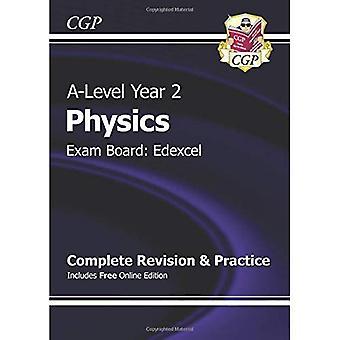 Nueva física de un nivel de 2015: Edexcel año 2 revisión completa y práctica con la edición en línea