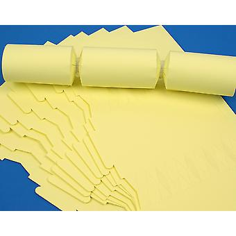 12 Pale Pastel Yellow Make & Fill Your Own Cracker Boards