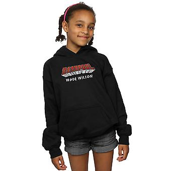 Marvel Girls Deadpool AKA Wade Wilson Hoodie