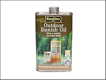 Rustins Quick Dry Outdoor Danish Oil 1 Litre