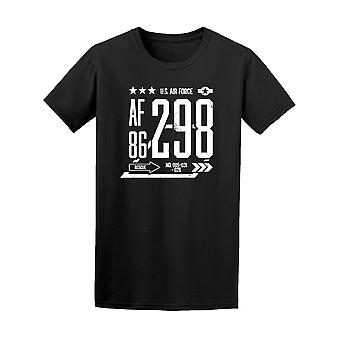 Modern Airforce 298-86 Tee Men's -Image by Shutterstock