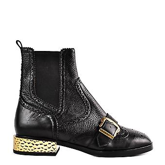 Ash Footwear Face Black Leather Boot