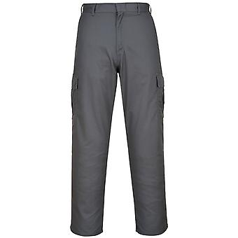 Portwest Mens Combat Work Trousers (Pack of 2)
