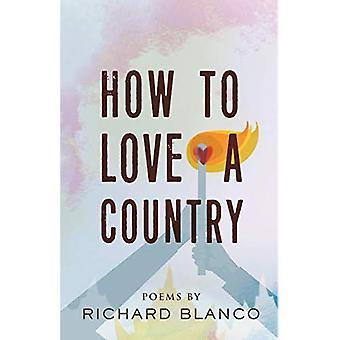 Comment aimer un pays: poèmes