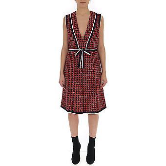 فستان غوتشي الأحمر فسكوز