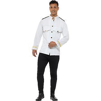Capitán a piloto Marina del traje de chaqueta chaqueta capitán
