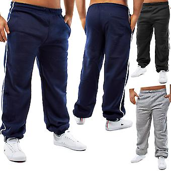 Men's Sweat pants sports dance trousers Activewear Fitness Relax Action Striped