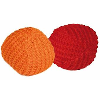 Trixie 2 balls Knitted for Cats, Catnip, Ø 4, 5 Cm (Cats , Toys , Balls)