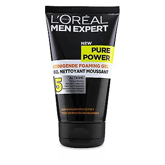 L'oreal Men Expert Pure Power Foaming Gel - 150ml/5oz