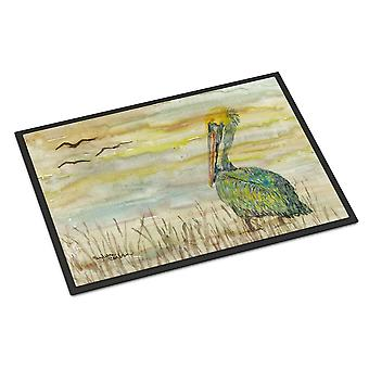 Carolines Treasures  SC2024JMAT Pelican Yellow Sky Indoor or Outdoor Mat 24x36