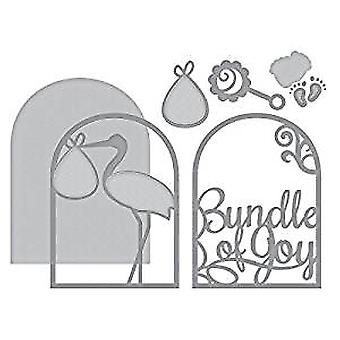 Spellbinders Layered Bundle of Joy Die (S4-852)