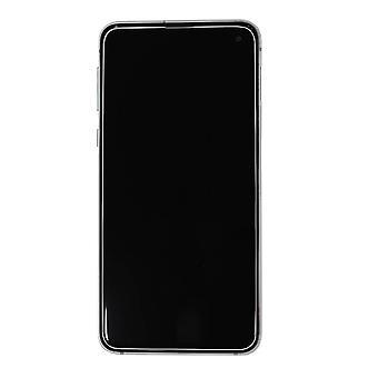 Echte Samsung Galaxy S10e prisma wit LCD-scherm | iParts4u